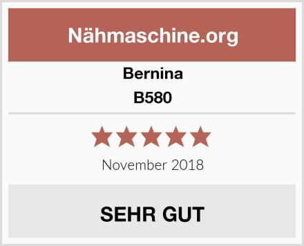 Bernina B580 Test