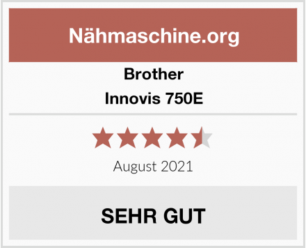 Brother Innovis 750E Test