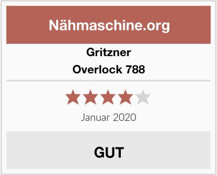 Gritzner Overlock 788 Test