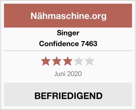 Singer Confidence 7463 Test