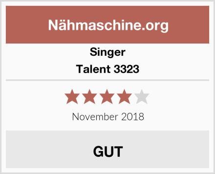 Singer Talent 3323 Test