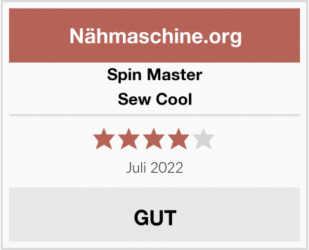 Spin Master Sew Cool Test