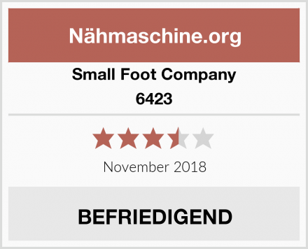 Small Foot Company 6423 Test