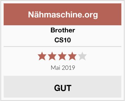 Brother CS10  Test