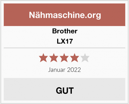 Brother LX17 Test