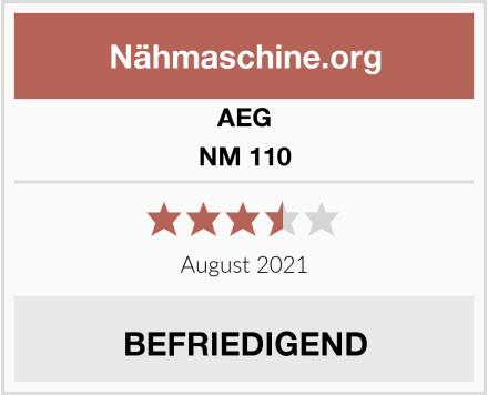 AEG NM 110 Test