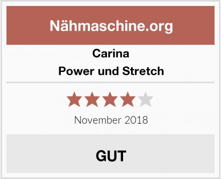 Carina Power und Stretch Test