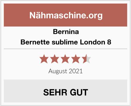 Bernina Bernette sublime London 8 Test