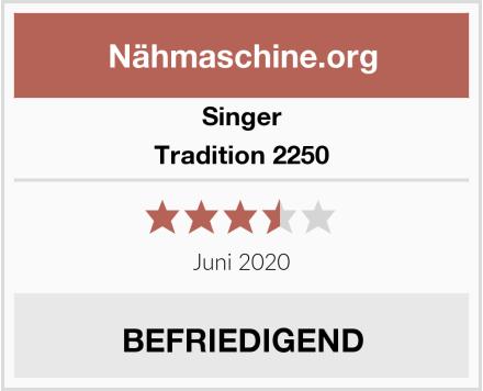 Singer Tradition 2250 Test