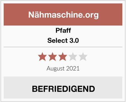 Pfaff Select 3.0 Test