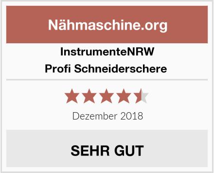 InstrumenteNRW Profi Schneiderschere  Test