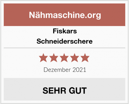 Fiskars Schneiderschere Test