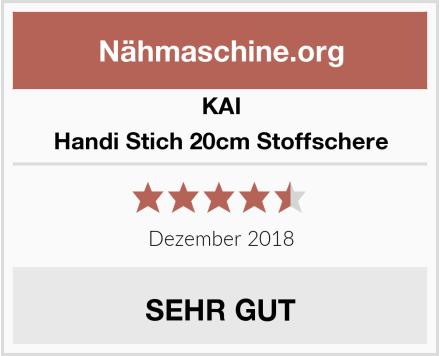 Kai Handi Stich 20cm Stoffschere Test