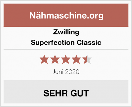 Zwilling Superfection Classic Test