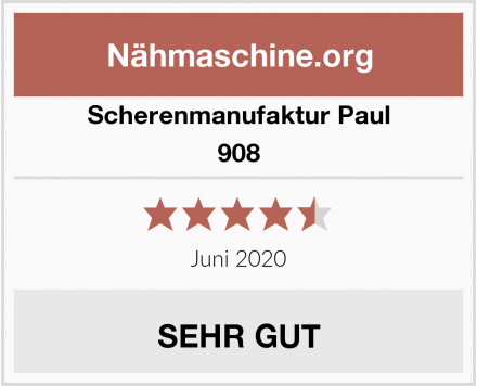 Scherenmanufaktur Paul 908 Test