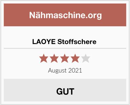 No Name LAOYE Stoffschere  Test