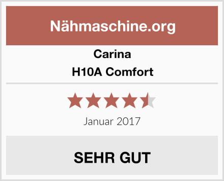 Carina H10A Comfort Test