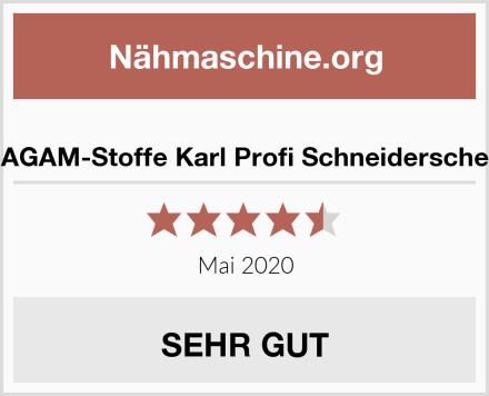 MAGAM-Stoffe Karl Profi Schneiderschere Test