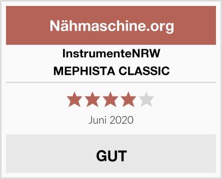 InstrumenteNRW MEPHISTA CLASSIC Test
