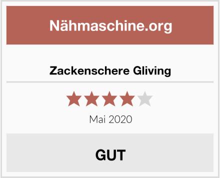 Zackenschere Gliving Test