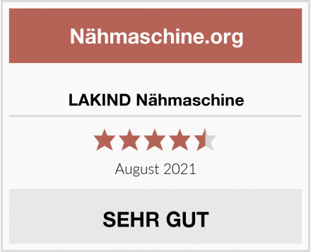 No Name LAKIND Nähmaschine Test