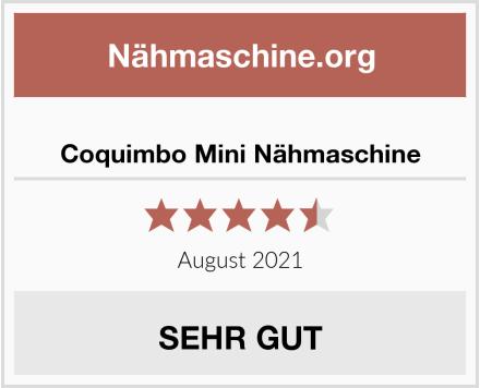 Coquimbo Mini Nähmaschine Test
