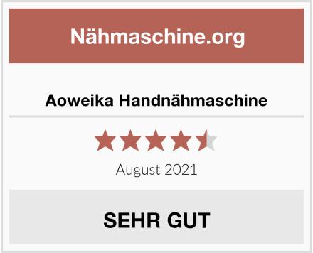 Aoweika Handnähmaschine Test