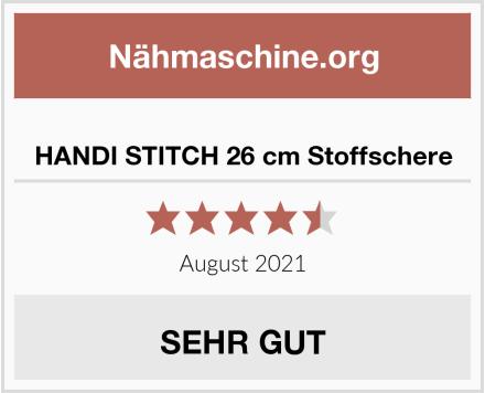 HANDI STITCH 26 cm Stoffschere Test