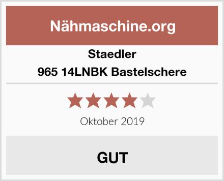 Staedler 965 14LNBK Bastelschere Test