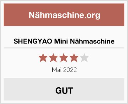 No Name SHENGYAO Mini Nähmaschine Test