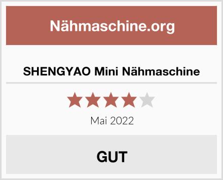SHENGYAO Mini Nähmaschine Test