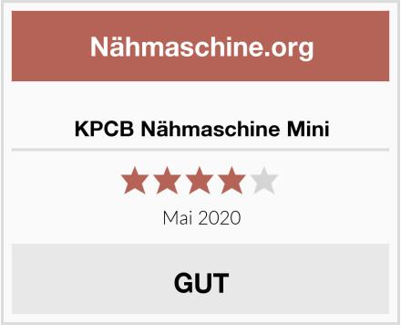 No Name KPCB Nähmaschine Mini Test