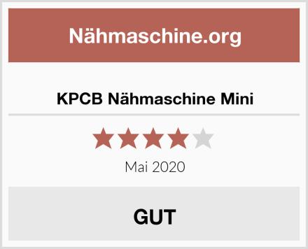 KPCB Nähmaschine Mini Test