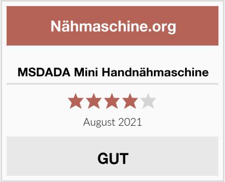 No Name MSDADA Mini Handnähmaschine Test