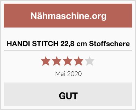 HANDI STITCH 22,8 cm Stoffschere Test