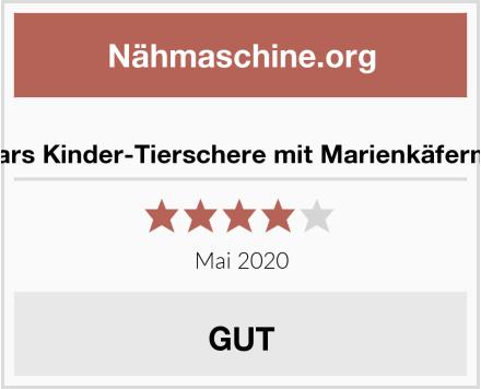 No Name Fiskars Kinder-Tierschere mit Marienkäfermotiv Test
