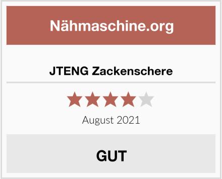 JTENG Zackenschere Test