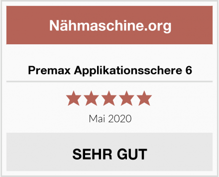 Premax Applikationsschere 6 Test