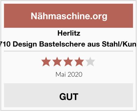 Herlitz 10801710 Design Bastelschere aus Stahl/Kunststoff Test