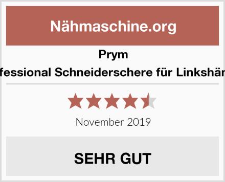Prym Professional Schneiderschere für Linkshänder Test