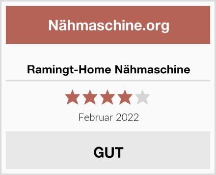 Ramingt-Home Nähmaschine Test