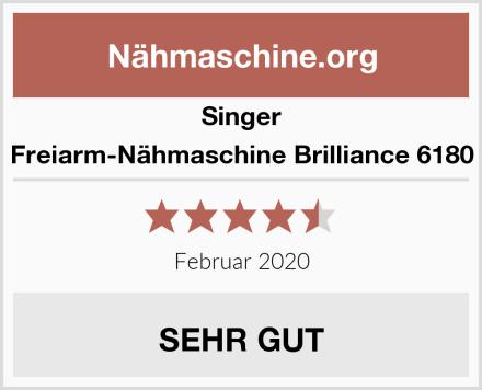 Singer Freiarm-Nähmaschine Brilliance 6180 Test