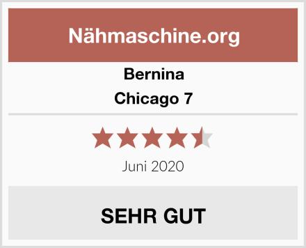 Bernina Chicago 7 Test