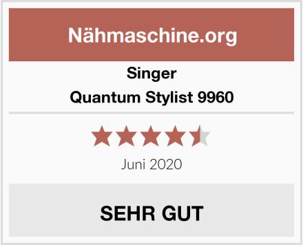 Singer Quantum Stylist 9960 Test