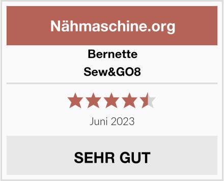 Bernette Sew&GO8 Test