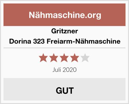 Gritzner Dorina 323 Freiarm-Nähmaschine Test