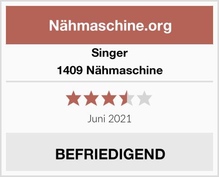Singer 1409 Nähmaschine Test