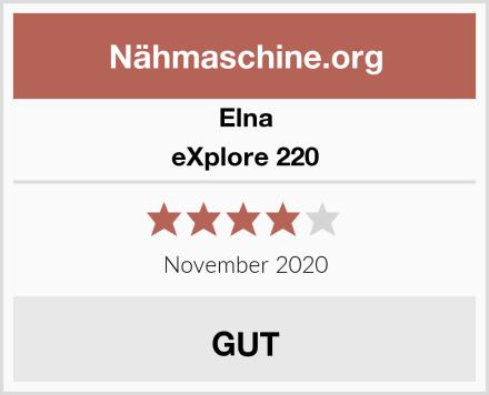 Elna eXplore 220 Test