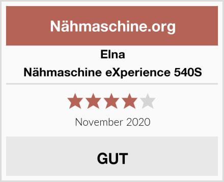 Elna Nähmaschine eXperience 540S Test