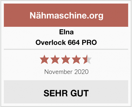 Elna Overlock 664 PRO Test